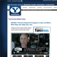 Regence Tips from the Trainer - BYU Cougars